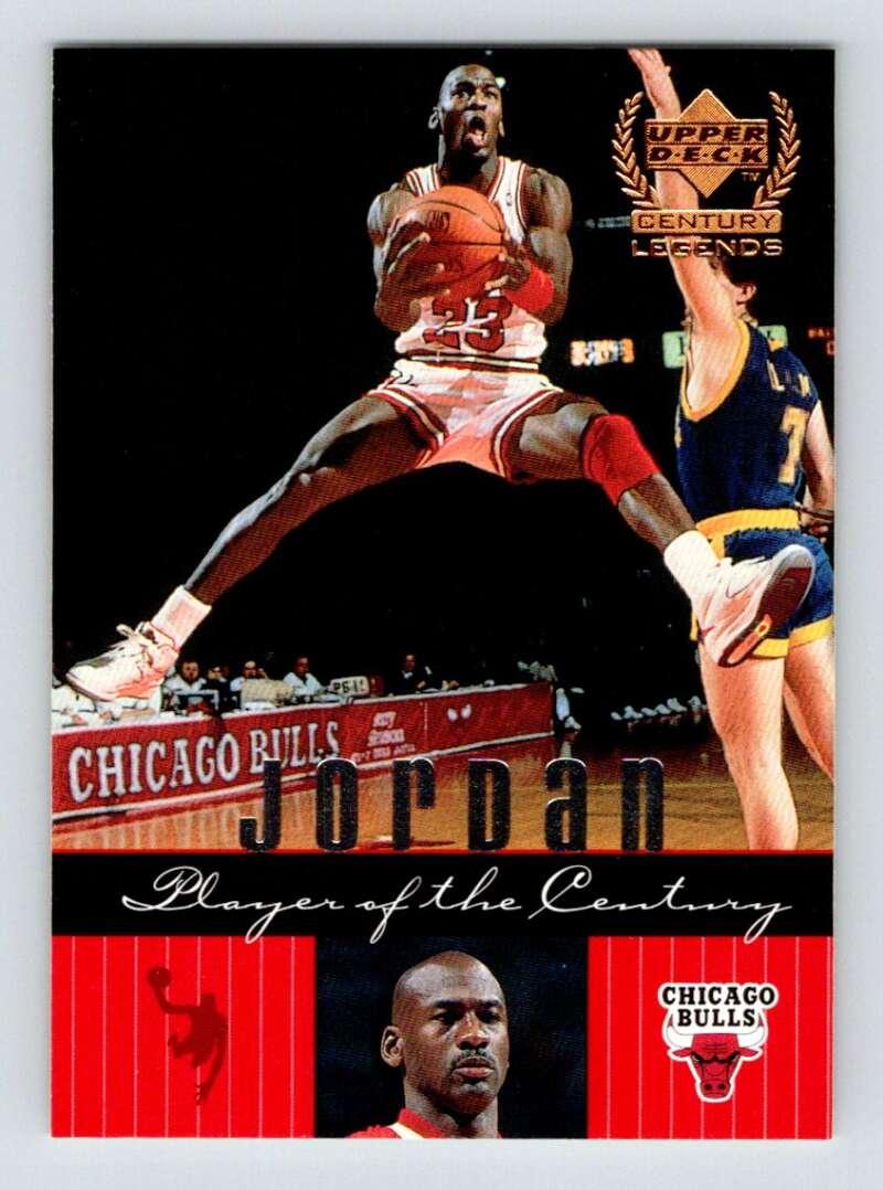 1999-00 Upper Deck Century Legends #82 Michael Jordan NM Near Mint