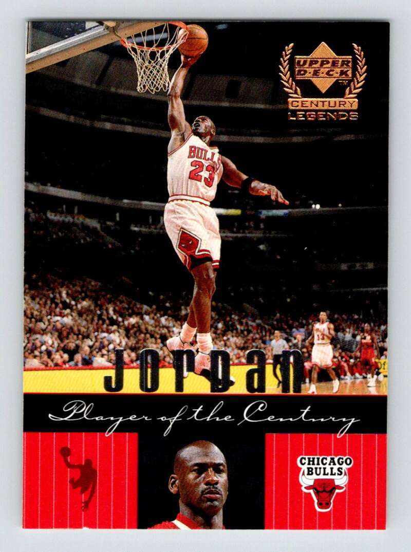 1999-00 Upper Deck Century Legends #83 Michael Jordan NM Near Mint