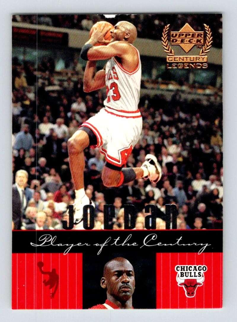1999-00 Upper Deck Century Legends #85 Michael Jordan NM Near Mint