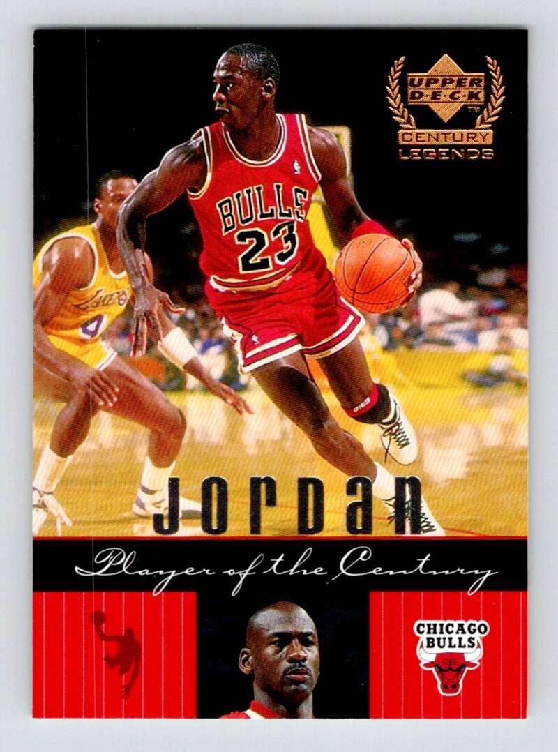 1999-00 Upper Deck Century Legends #87 Michael Jordan NM Near Mint