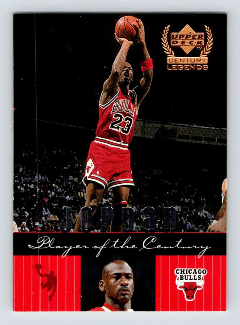 1999-00 Upper Deck Century Legends #90 Michael Jordan NM Near Mint