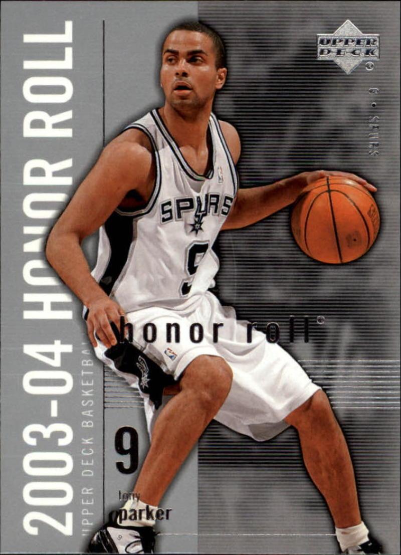 Basketball NBA 2003-04 Honor Roll #76 Tony Parker
