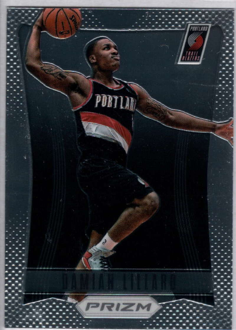 2012-13 Panini Prizm #245 Damian Lillard Portland Trail Blazers NM-MT NBA