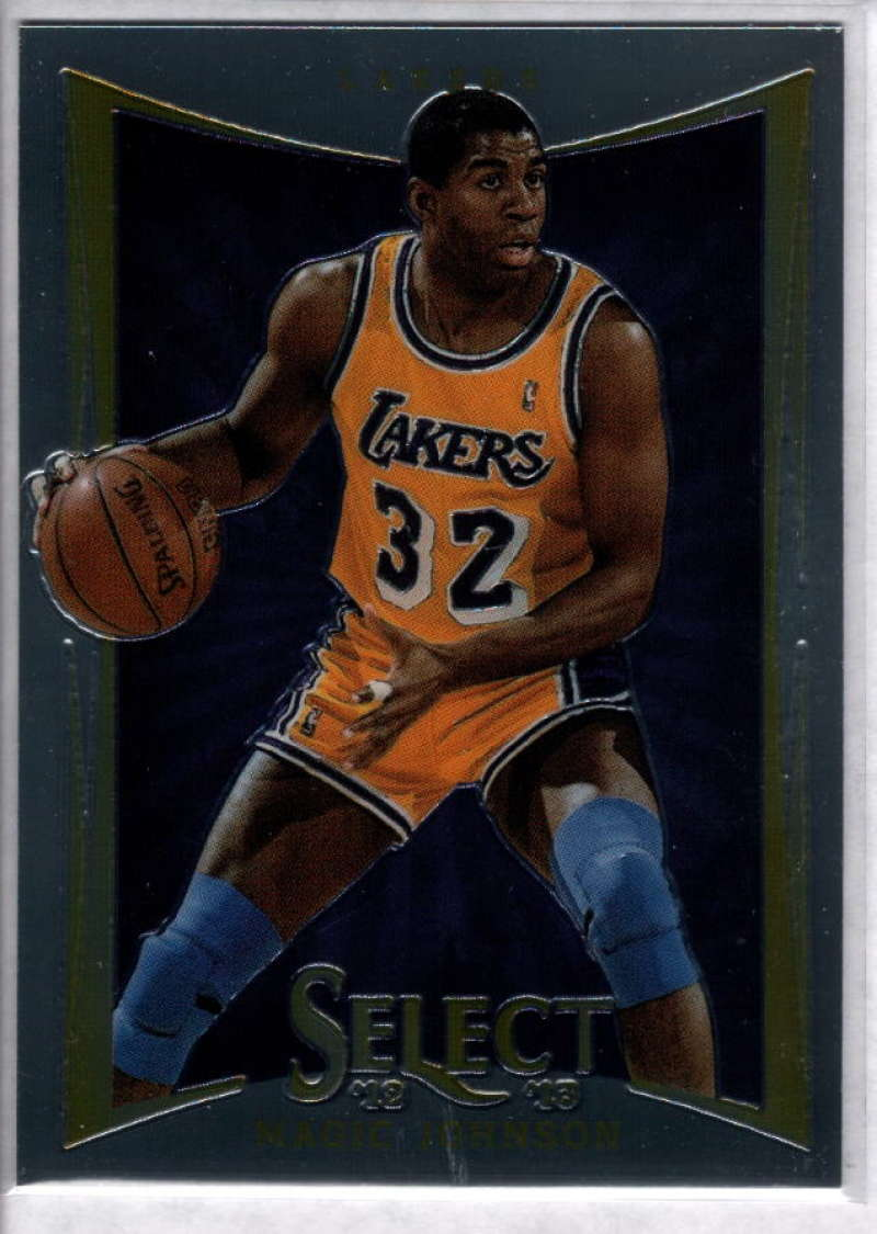 2012-13 Panini Select #135 Magic Johnson NM-MT+