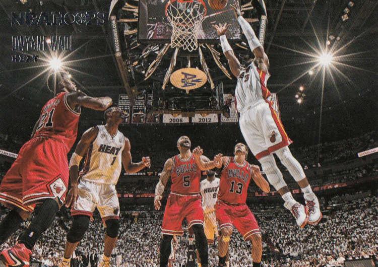 2013-14 Panini Hoops Courtside #5 Dwyane Wade NM-MT Miami Heat Official NBA Basketball Card