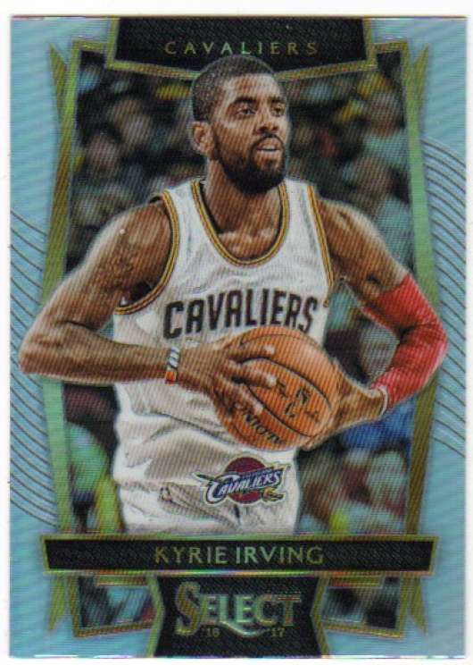 2016-17 Panini Select Concourse - Silver Prizms #6 Kyrie Irving Cleveland Cavaliers
