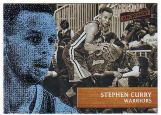 2016-17 Panini Aficionado #61 Stephen Curry NM+