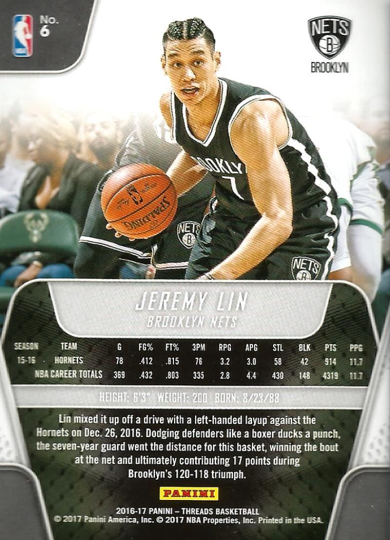 2016-17-Panini-Threads-Basketball-Base-and-RC-Cards-Choose-Card-039-s-1-200 thumbnail 8