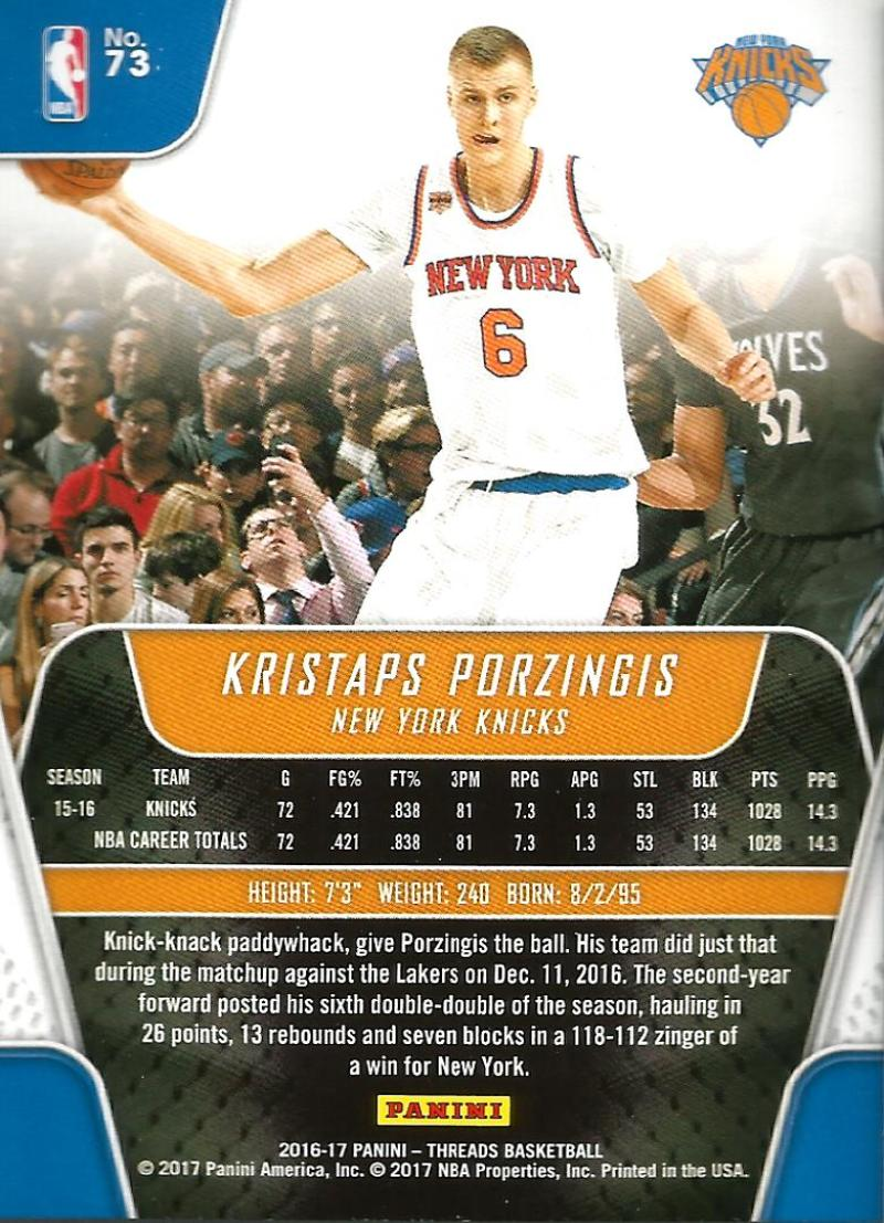 2016-17-Panini-Threads-Basketball-Base-and-RC-Cards-Choose-Card-039-s-1-200 thumbnail 75