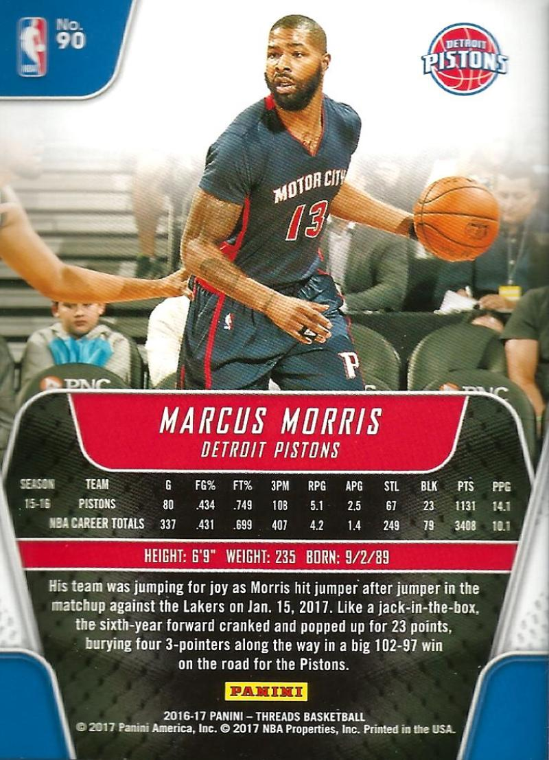2016-17-Panini-Threads-Basketball-Base-and-RC-Cards-Choose-Card-039-s-1-200 thumbnail 94