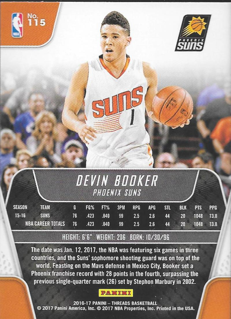 2016-17-Panini-Threads-Basketball-Base-and-RC-Cards-Choose-Card-039-s-1-200 thumbnail 120