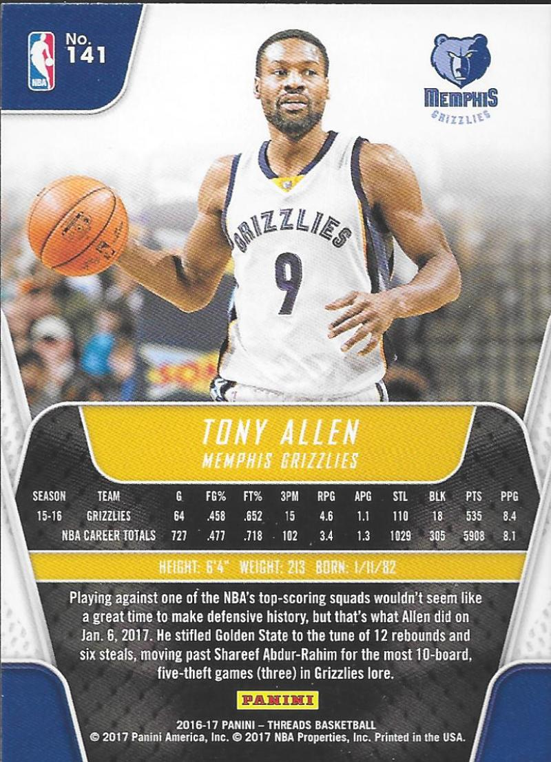 2016-17-Panini-Threads-Basketball-Base-and-RC-Cards-Choose-Card-039-s-1-200 thumbnail 139