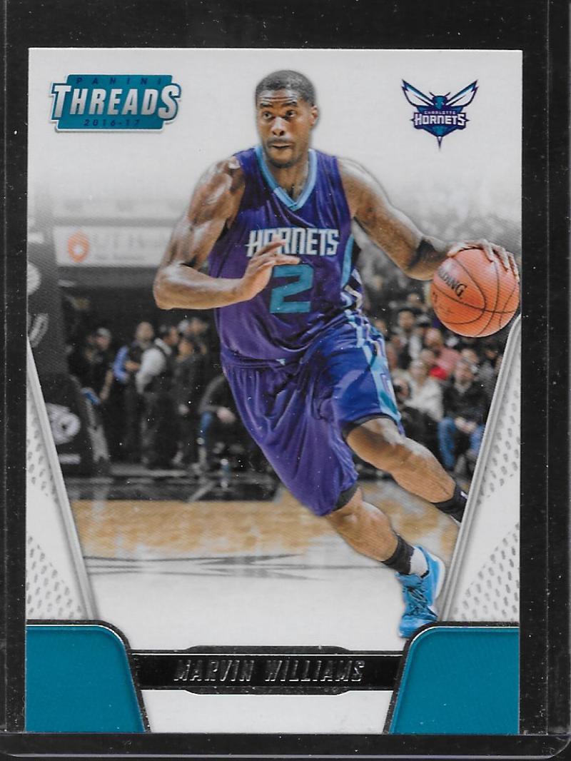 2016-17 Panini Threads #68 Marvin Williams NM-MT Hornets