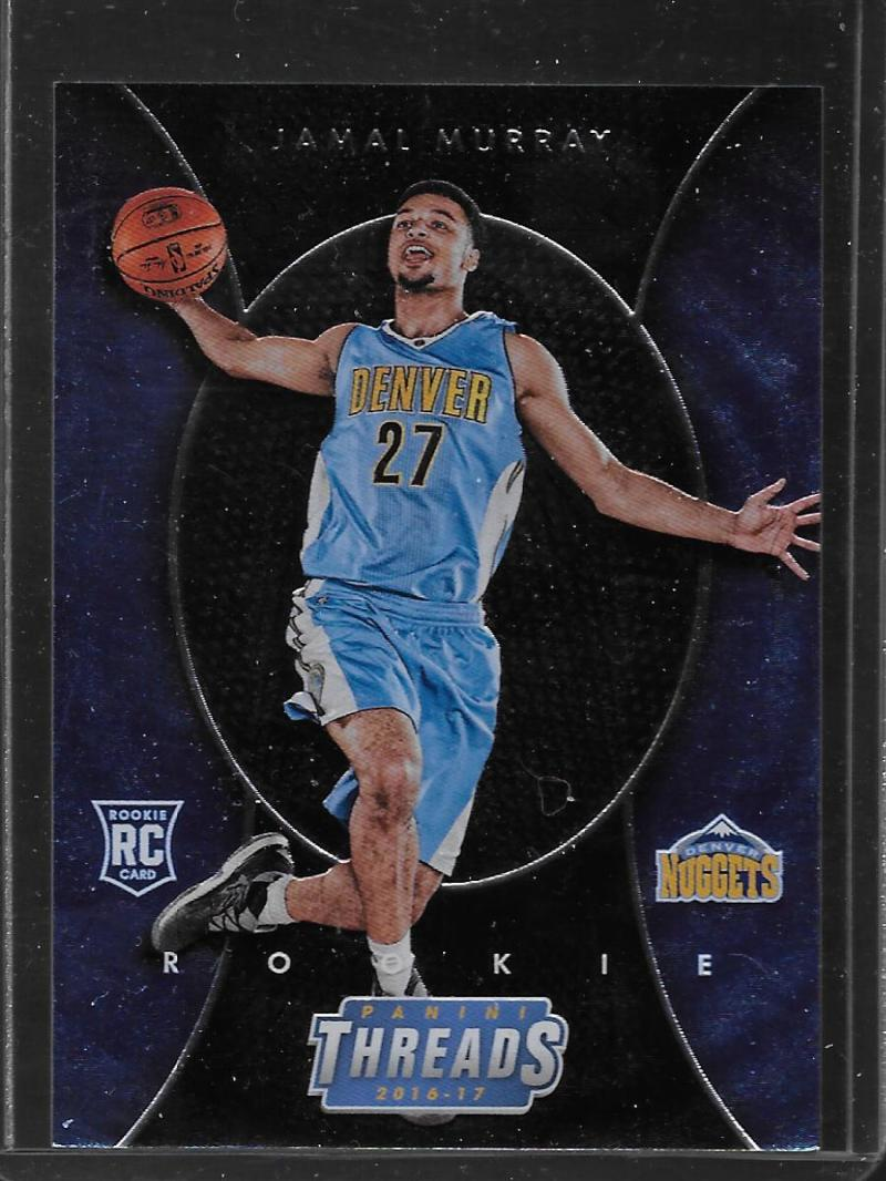 2016-17 Panini Threads #266 Jamal Murray Denver Nuggets Micro Etch Rookies