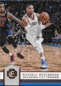 2016-17 Panini Excalibur #121 Russell Westbrook Oklahoma City Thunder