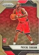 2016-17 Panini Prizm Basketball #220 Pascal Siakam Toronto Raptors Official NBA Trading Card