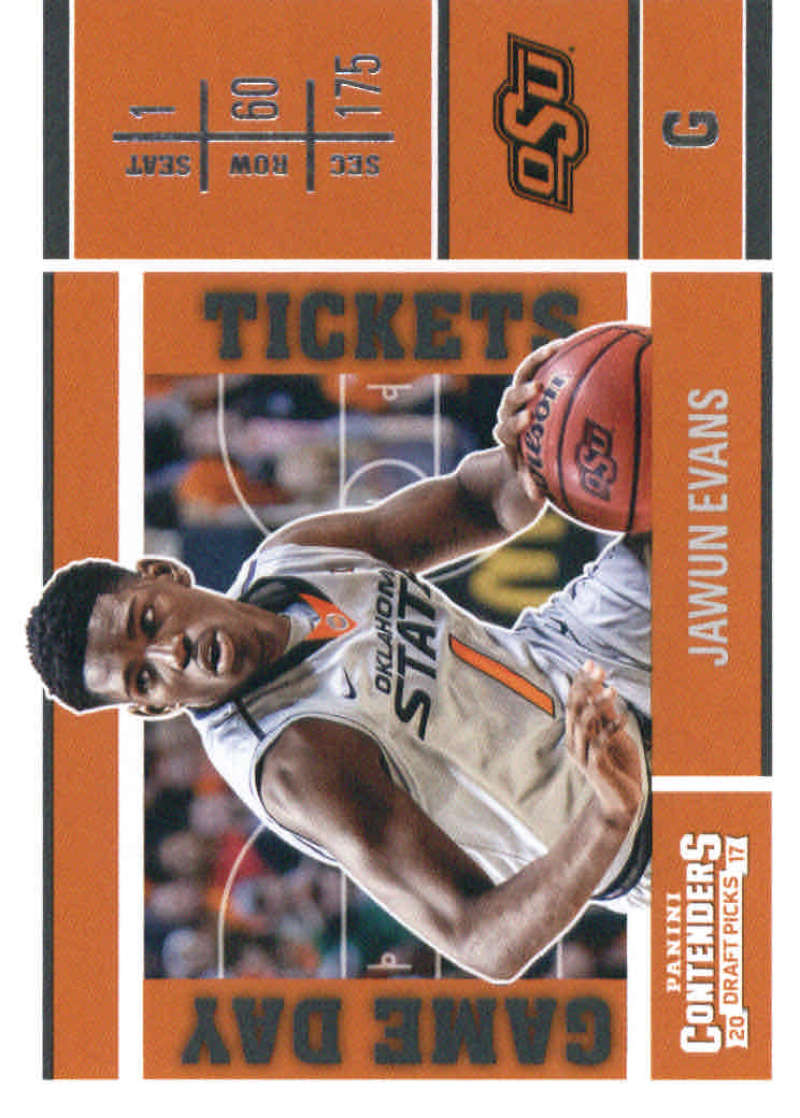 2017-18 Panini Contenders Draft Picks Game Day Tickets