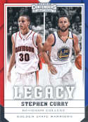 2017-18 Panini Contenders Draft Picks Legacy #30 Stephen Curry Davidson Wildcats/Golden State Warrio