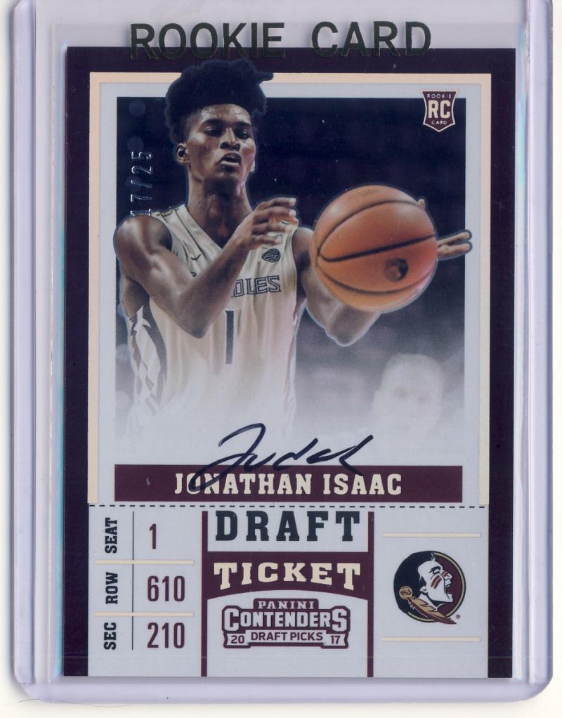 2017-18 Panini Contenders Draft Picks RPS College Draft Ticket Variation A