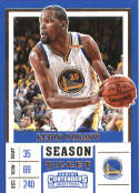 2017-18 Panini Contenders Draft Picks Season Ticket White Jersey #29 Kevin Durant Golden State Warr