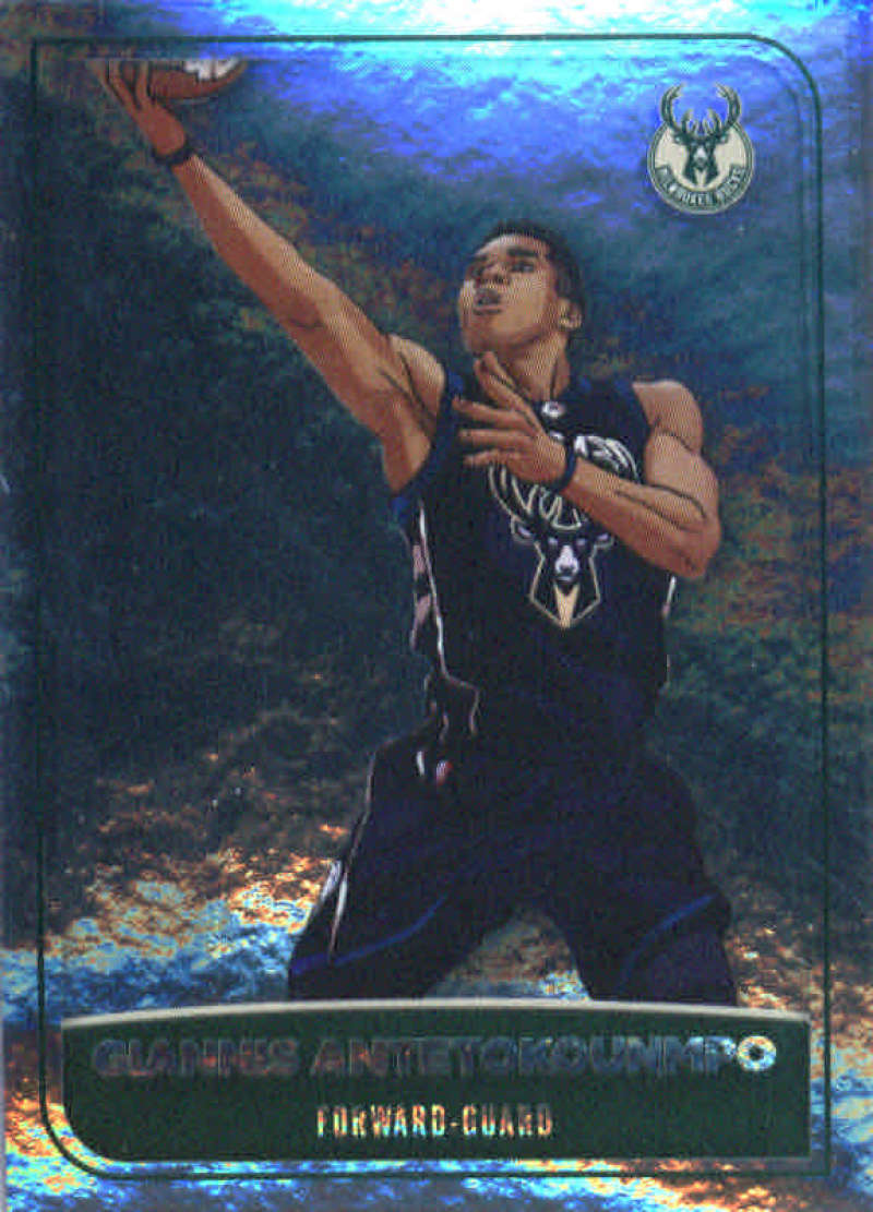 2017-18 Panini Stickers #120 Giannis Antetokounmpo Bucks