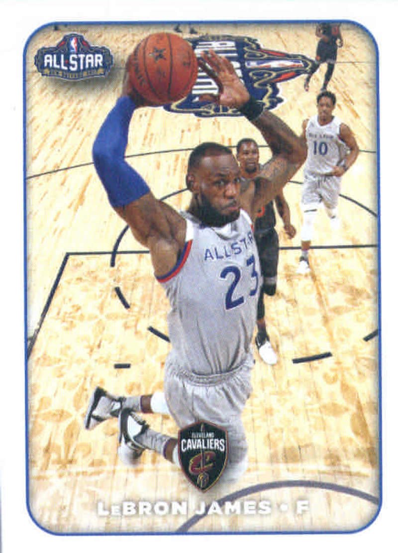 2017-18 Panini Stickers #395 LeBron James Eastern All-Stars