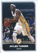 2017-18 Panini Stickers #98 Myles Turner Indiana Pacers
