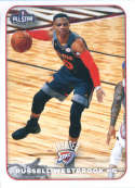 2017-18 Panini Stickers #389 Russell Westbrook Western All-Stars