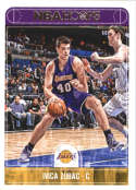2017-18 Panini Hoops #111 Ivica Zubac Los Angeles Lakers