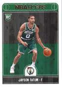 2017-18 Panini Hoops #253 Jayson Tatum Boston Celtics