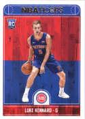 2017-18 Panini Hoops #262 Luke Kennard Detroit Pistons