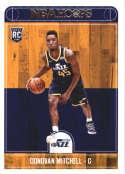 2017-18 Panini Hoops #263 Donovan Mitchell Utah Jazz