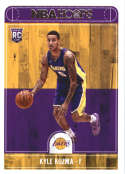 2017-18 Panini Hoops #277 Kyle Kuzma Los Angeles Lakers