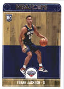 2017-18 Panini Hoops #281 Frank Jackson New Orleans Pelicans