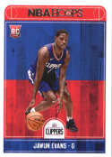 2017-18 Panini Hoops #289 Jawun Evans Los Angeles Clippers