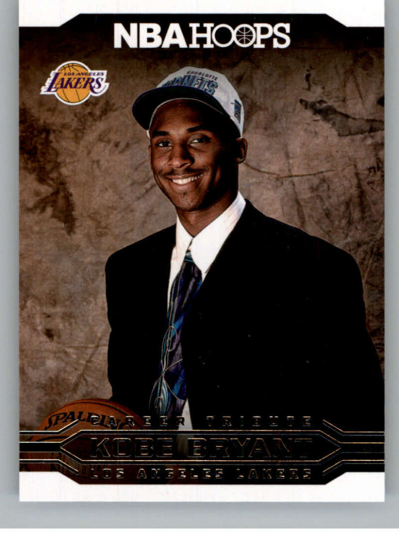2017-18 Panini Hoops Kobe Bryant Career Tribute Red Backs
