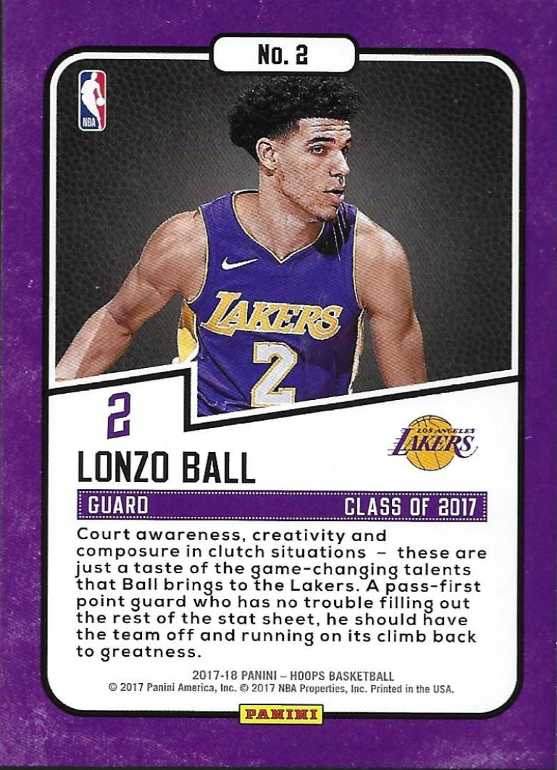 2017-18-Panini-Hoops-Class-of-2017-Basketball-Cards-Pick-From-List thumbnail 4