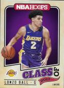 2017-18 Panini Hoops Class of 2017 #2 Lonzo Ball Los Angeles Lakers