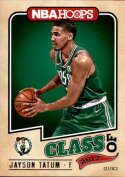 2017-18 Panini Hoops Class of 2017 #3 Jayson Tatum Boston Celtics