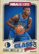 2017-18 Panini Hoops Class of 2017 #9 Dennis Smith Jr. Dallas Mavericks