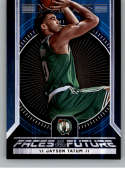 2017-18 Panini Hoops Faces of the Future #4 Jayson Tatum Boston Celtics