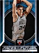 2017-18 Panini Hoops Faces of the Future #7 Lauri Markkanen Chicago Bulls
