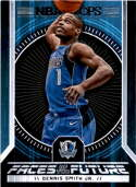 2017-18 Panini Hoops Faces of the Future #9 Dennis Smith Jr. Dallas Mavericks