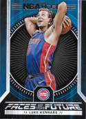 2017-18 Panini Hoops Faces of the Future #12 Luke Kennard Detroit Pistons