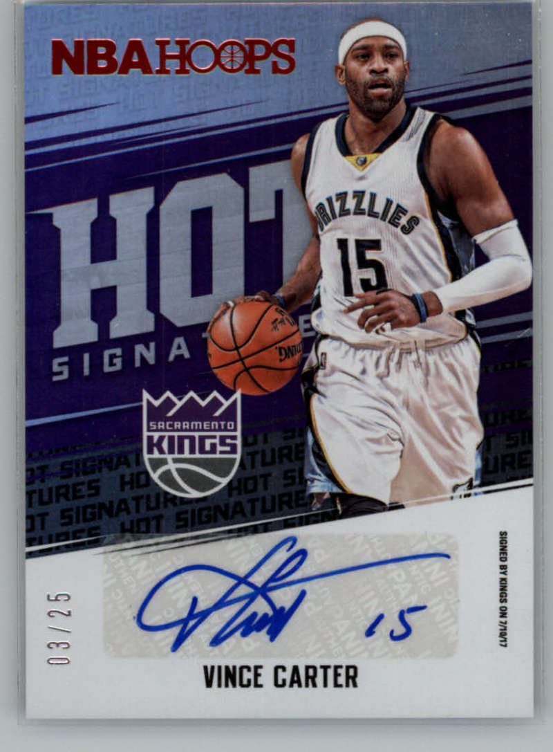 2017-18 Panini Hoops Red Hot Signatures