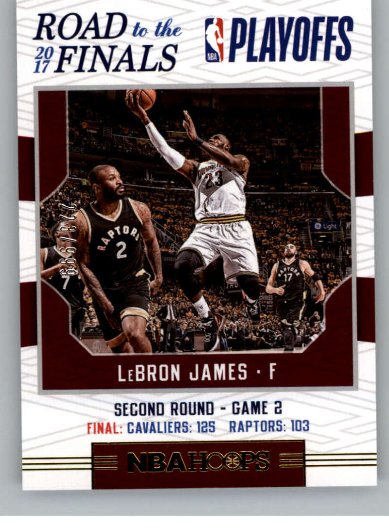 2017-18 Panini Hoops Road to the Finals Second Round