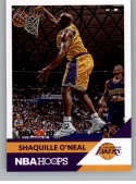 2017-18 Panini Hoops Shaquille O'Neal NBA 2K #18 Shaquille O'Neal Los Angeles Lakers