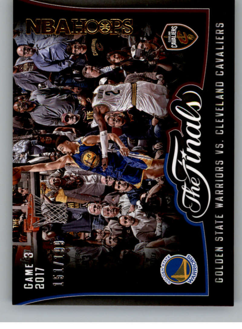 2017-18 Panini Hoops The Finals