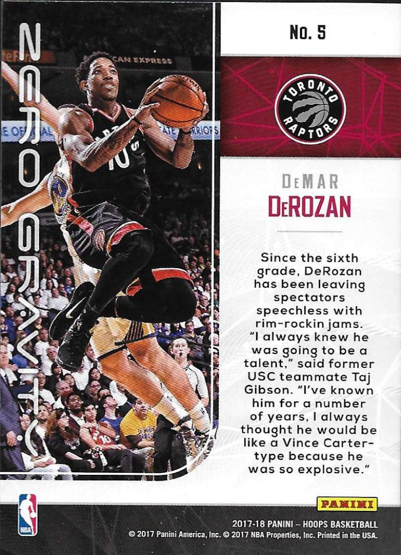 2017-18-Panini-Hoops-Zero-Gravity-Basketball-Insert-Cards-Pick-From-List thumbnail 7