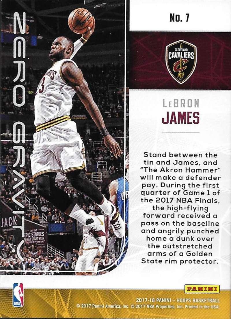 2017-18-Panini-Hoops-Zero-Gravity-Basketball-Insert-Cards-Pick-From-List thumbnail 10